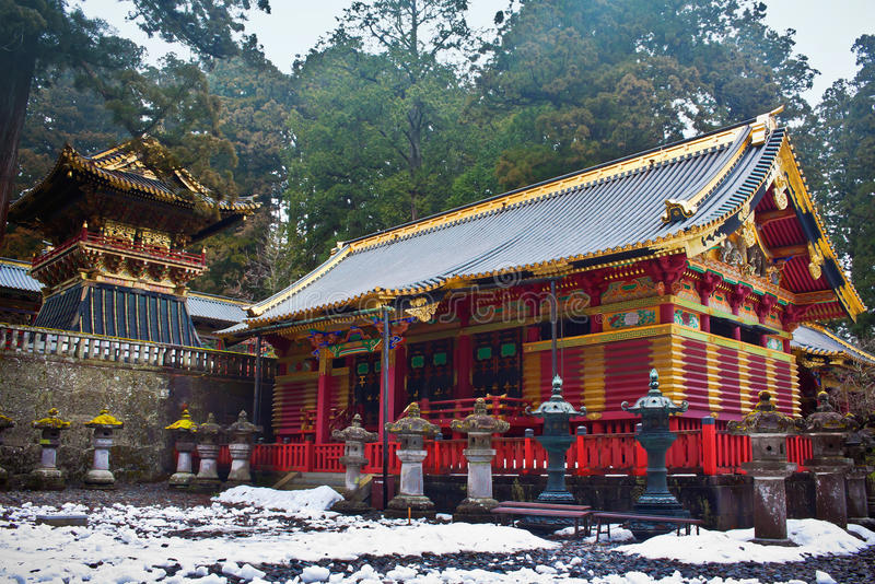 Η λάρνακα Toshogu σε Nikko, Ιαπωνία στοκ φωτογραφίες με δικαίωμα ελεύθερης χρήσης