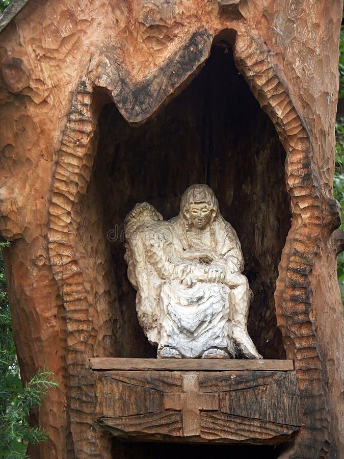 η λίγη λάρνακα ξύλινη στοκ εικόνα με δικαίωμα ελεύθερης χρήσης