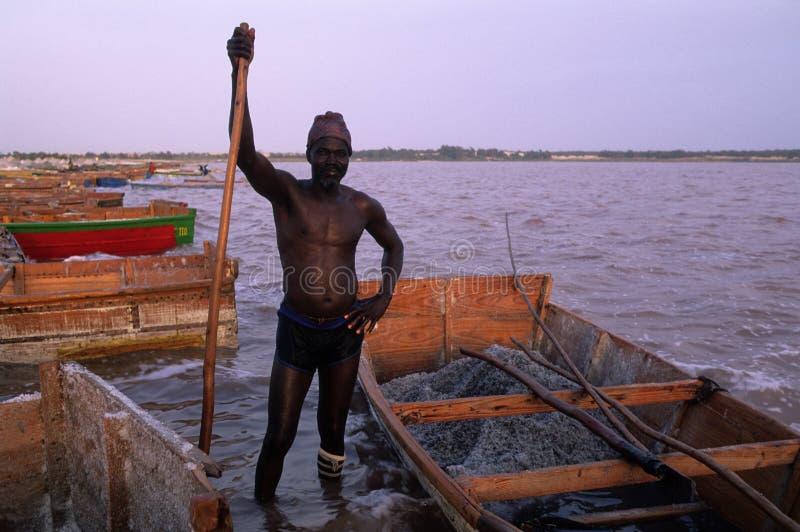 η λίμνη αυξήθηκε Σενεγάλη στοκ φωτογραφίες με δικαίωμα ελεύθερης χρήσης