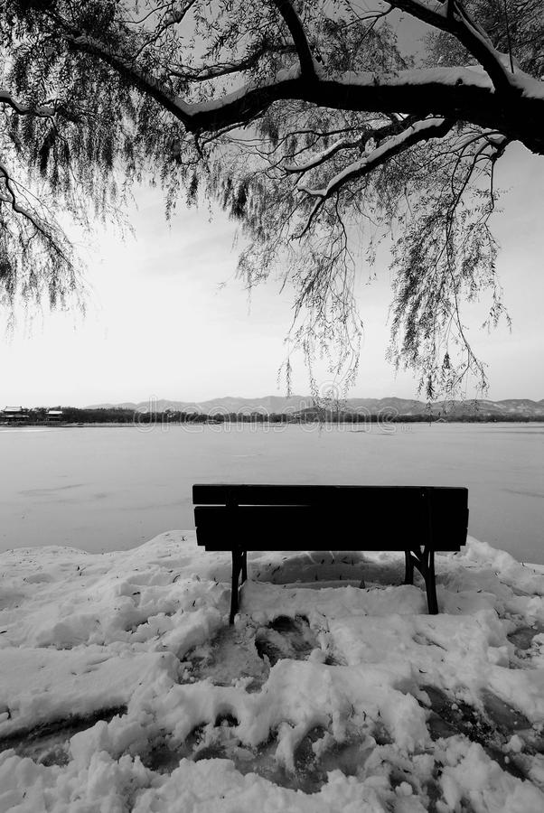 η λίμνη βλέπει στοκ εικόνες