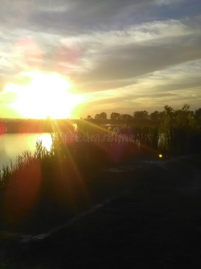 Η λίμνη κοιμόταν στοκ εικόνες με δικαίωμα ελεύθερης χρήσης