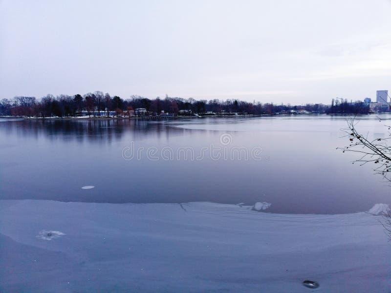 Η λίμνη πάγου στοκ εικόνες