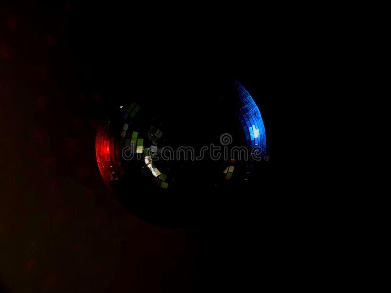 Η λαμπρή σφαίρα Disco στοκ φωτογραφίες με δικαίωμα ελεύθερης χρήσης