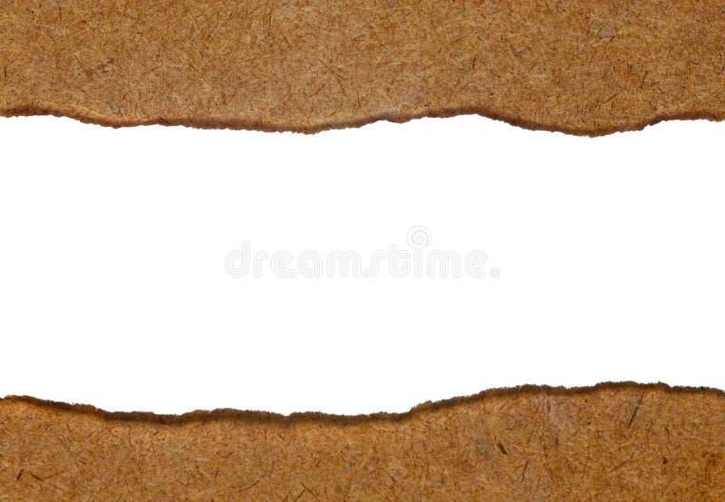 Η Λευκή Βίβλος σχίζεται βαλμένος στον ξύλινο πίνακα στοκ εικόνα