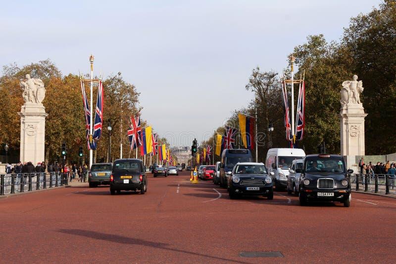 Η λεωφόρος - Λονδίνο στοκ εικόνα