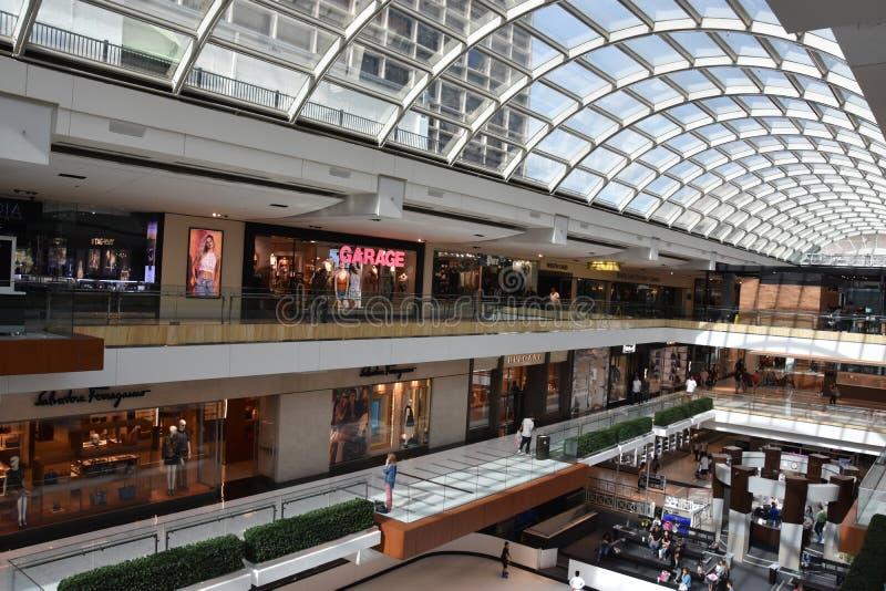Η λεωφόρος Galleria στο Χιούστον, Τέξας στοκ εικόνες