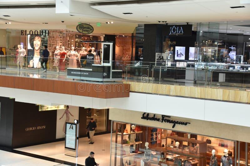 Η λεωφόρος Galleria στο Χιούστον, Τέξας στοκ εικόνα με δικαίωμα ελεύθερης χρήσης