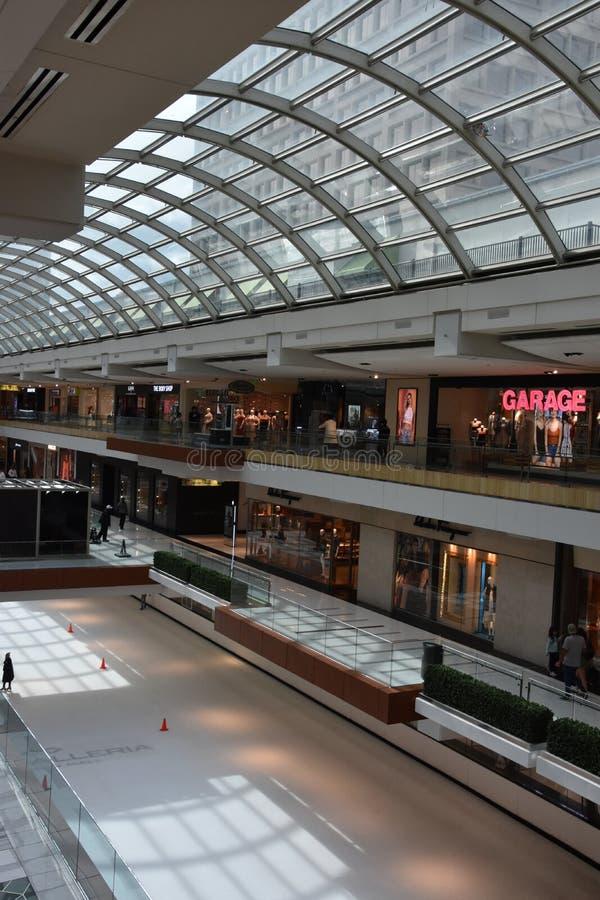 Η λεωφόρος Galleria στο Χιούστον, Τέξας στοκ εικόνες με δικαίωμα ελεύθερης χρήσης
