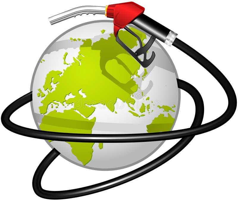 η μάνικα σφαιρών καυσίμων διανυσματική απεικόνιση