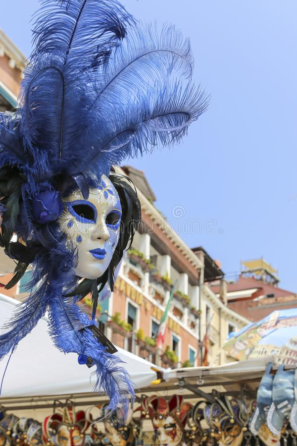 Η μάσκα στη Βενετία, Ιταλία στοκ εικόνες με δικαίωμα ελεύθερης χρήσης