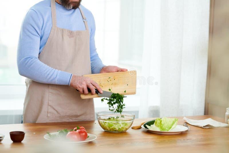 Η μαγειρεύοντας TV παρουσιάζει με πλήρη ταχύτητα στοκ εικόνες με δικαίωμα ελεύθερης χρήσης