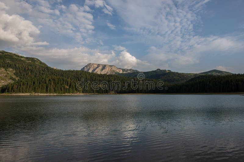 Η μαύρη λίμνη, Durmitor, Μαυροβούνιο στοκ εικόνα με δικαίωμα ελεύθερης χρήσης