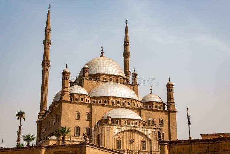 Η μεγάλη ακρόπολη μουσουλμανικών τεμενών του Muhammad Ali αλαβάστρινη του Καίρου, Αίγυπτος στοκ εικόνα