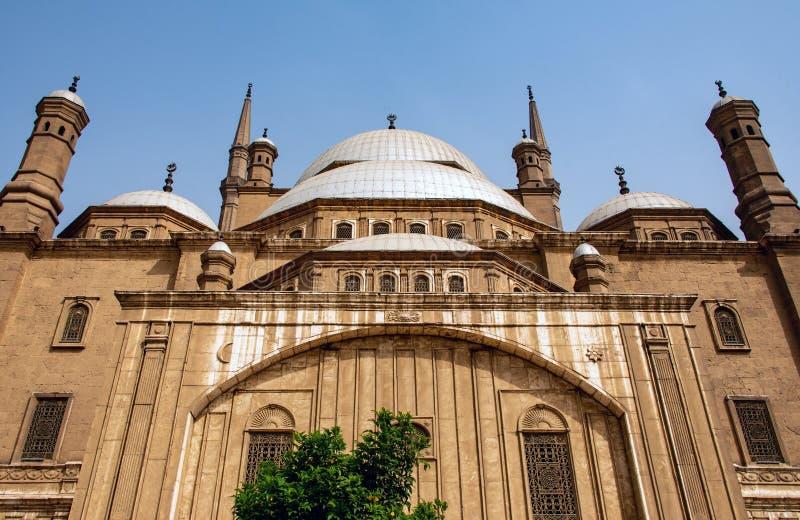 Η μεγάλη ακρόπολη μουσουλμανικών τεμενών του Muhammad Ali αλαβάστρινη του Καίρου, Αίγυπτος στοκ εικόνα με δικαίωμα ελεύθερης χρήσης