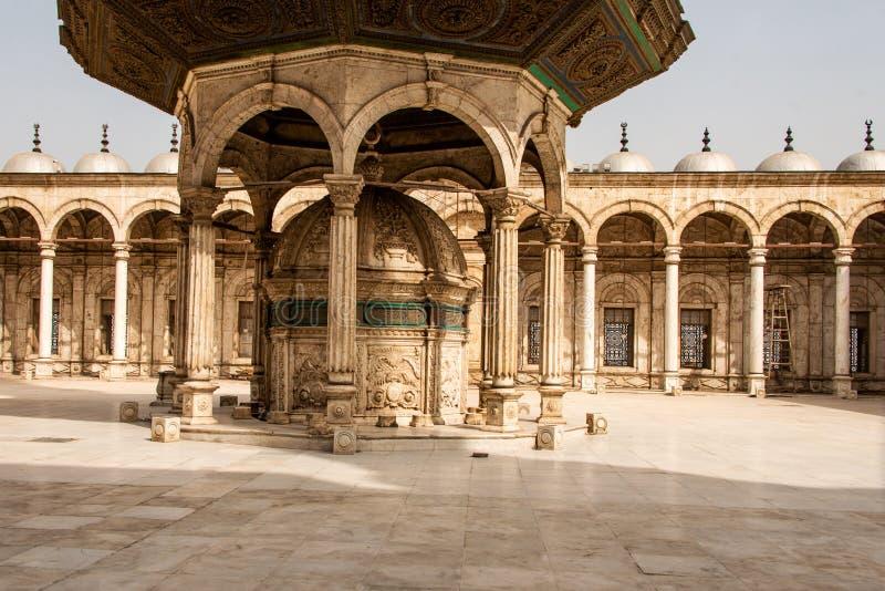 Η μεγάλη ακρόπολη μουσουλμανικών τεμενών του Muhammad Ali αλαβάστρινη του Καίρου, Αίγυπτος στοκ φωτογραφία με δικαίωμα ελεύθερης χρήσης