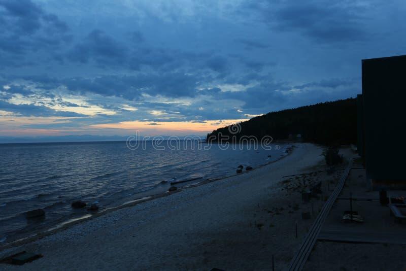 Η μεγάλη λίμνη Baikal, Ρωσία στοκ φωτογραφία με δικαίωμα ελεύθερης χρήσης