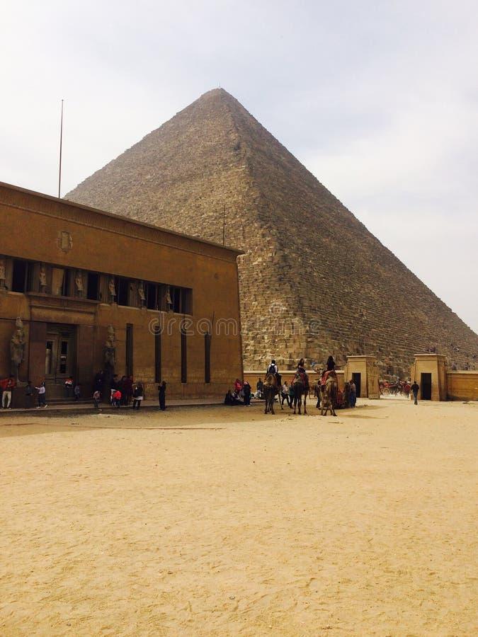 Η μεγάλη πυραμίδα Khufu σε Giza στοκ εικόνες