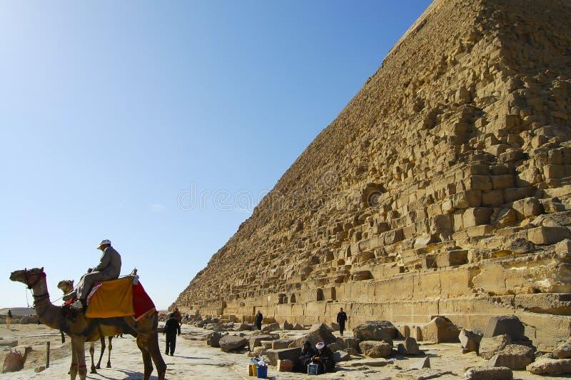 Η μεγάλη πυραμίδα Khufu Giza στοκ εικόνες με δικαίωμα ελεύθερης χρήσης