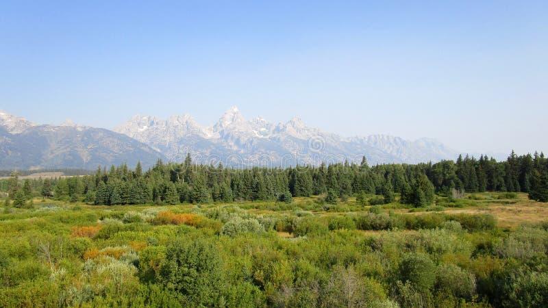 Η μεγάλη σειρά βουνών Teton στοκ φωτογραφίες με δικαίωμα ελεύθερης χρήσης