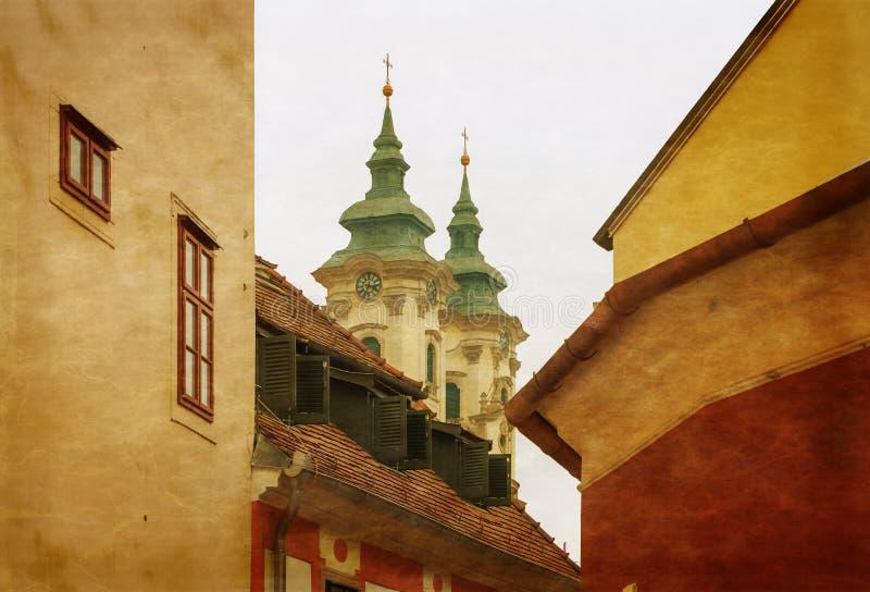 Η μεσαιωνική πόλη Eger Ουγγαρία στοκ φωτογραφία με δικαίωμα ελεύθερης χρήσης