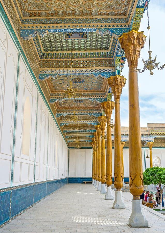 Η μεσαιωνική του Ουζμπεκιστάν τέχνη στοκ εικόνες