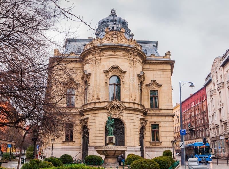 Μητροπολιτική βιβλιοθήκη Ervin Szabo στη Βουδαπέστη, Ουγγαρία Εκδοτική Στοκ Εικόνες - εικόνα από cityscape, arroyos: 87395643