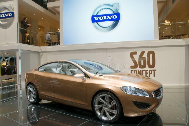 η μηχανή της Γενεύης έννοιας αυτοκινήτων του 2009 s60 εμφανίζει VOLVO στοκ φωτογραφίες