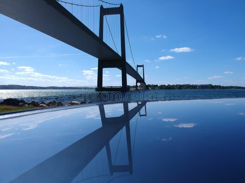 Η μικρή γέφυρα ζωνών - DK στοκ φωτογραφίες με δικαίωμα ελεύθερης χρήσης