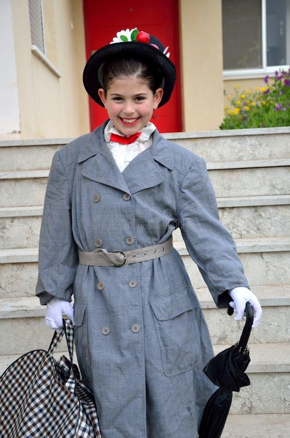 Η μικρή Mary Poppins στοκ εικόνες