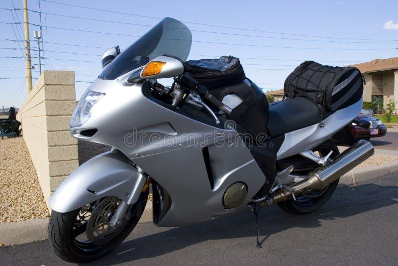 η μοτοσικλέτα Honda αυτοκινή& στοκ εικόνα