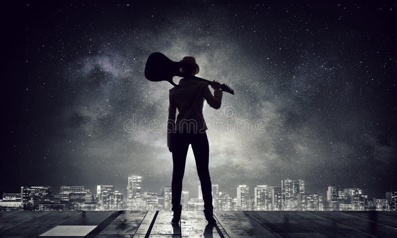 Η μουσική είναι ο τρόπος ζωής της Μικτά μέσα στοκ εικόνες με δικαίωμα ελεύθερης χρήσης