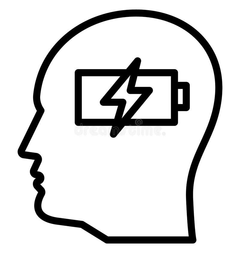 Η μπαταρία, ενέργεια, απομονωμένο επαναφόρτιση διανυσματικό εικονίδιο μπορεί να είναι εκδίδει εύκολα και τροποποιεί απεικόνιση αποθεμάτων