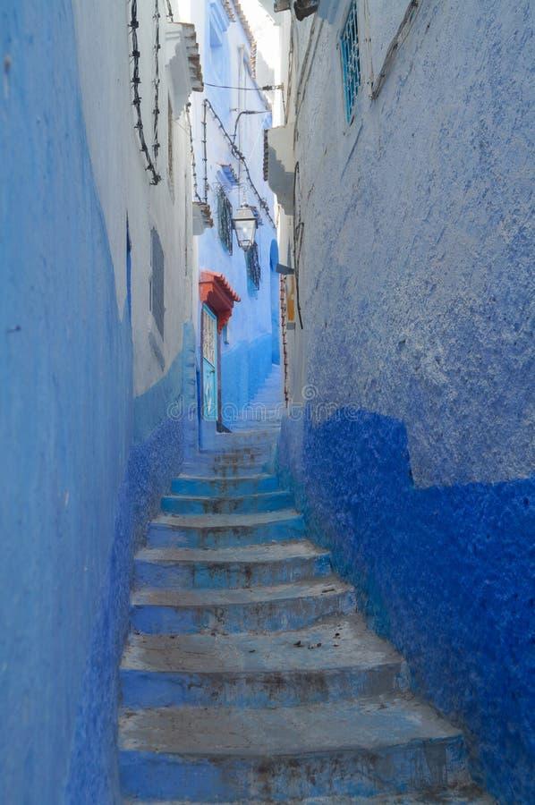 Η μπλε πόλη - Chefchaouen, Μαρόκο στοκ εικόνες με δικαίωμα ελεύθερης χρήσης