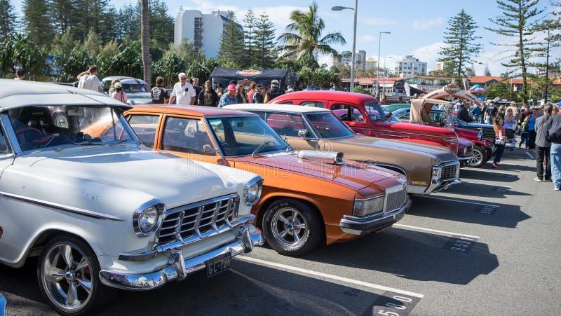 η μόδα αυτοκινήτων παλαιά εμφανίζει στοκ εικόνες με δικαίωμα ελεύθερης χρήσης