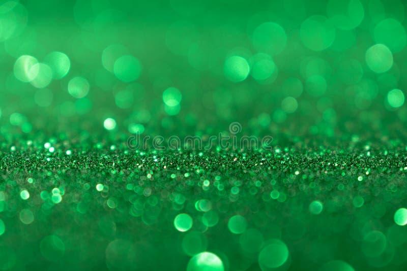 Η νέα ημέρα βαλεντίνων έτους Χριστουγέννων πράσινη ακτινοβολεί υπόβαθρο Αφηρημένο ύφασμα σύστασης διακοπών Στοιχείο, λάμψη στοκ εικόνες