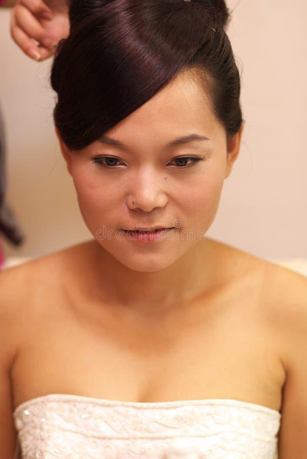 η νύφη αποτελεί στοκ εικόνα με δικαίωμα ελεύθερης χρήσης