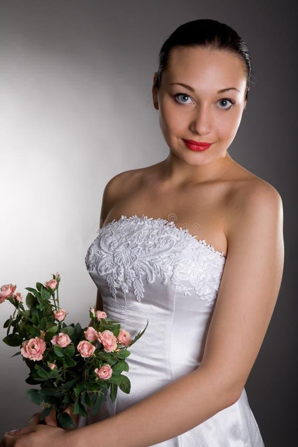 η νύφη αυξήθηκε στοκ εικόνες