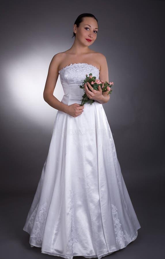 η νύφη αυξήθηκε στοκ εικόνα