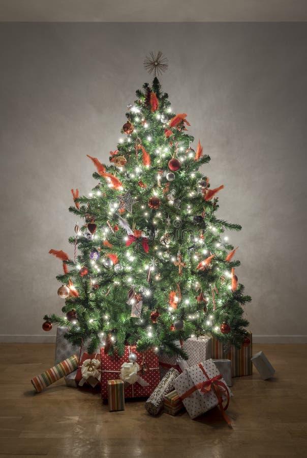 Η νύχτα πριν από τα Χριστούγεννα στοκ φωτογραφίες με δικαίωμα ελεύθερης χρήσης