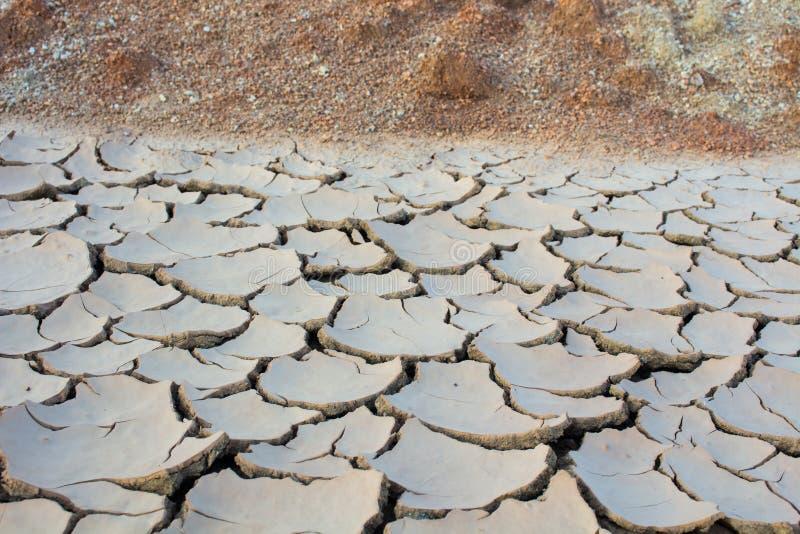 Η ξηρασία, παγκόσμια αύξηση της θερμοκρασίας λόγω του φαινομένου του θερμοκηπίου, περιβάλλον αλλάζει ξαφνικά στοκ εικόνες