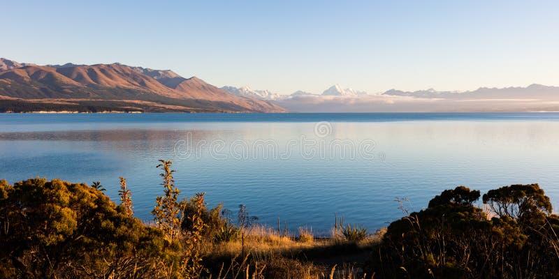 Η οδήγηση στο χιόνι κάλυψε το Mt Μαγείρεμα / Αοράκι στη Νέα Ζηλανδία`Νότια Νήσος στοκ φωτογραφία