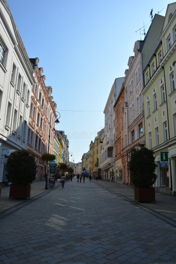 Η οδός πόλεων στοκ φωτογραφία