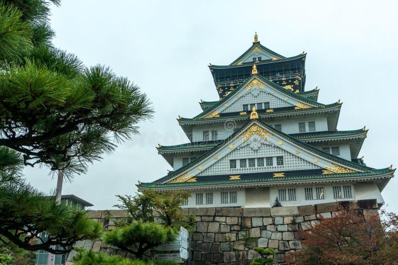 Η Οζάκα Castle στοκ φωτογραφία με δικαίωμα ελεύθερης χρήσης