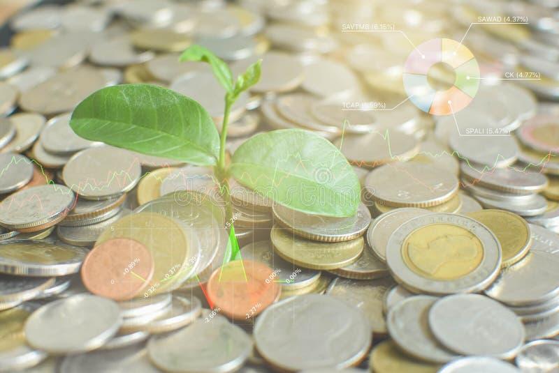 Η οικονομικές επιχείρηση και η χρηματαγορά Χρηματιστήριο στοκ φωτογραφία με δικαίωμα ελεύθερης χρήσης
