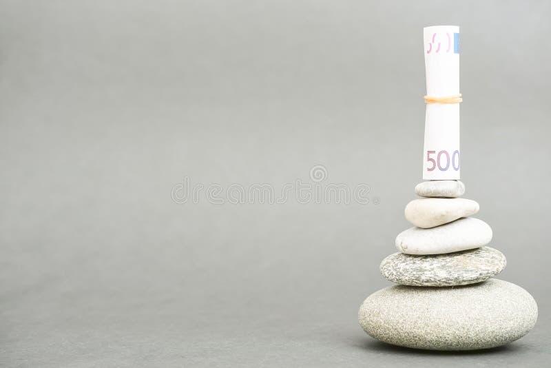Η οικονομική Zen στοκ φωτογραφία