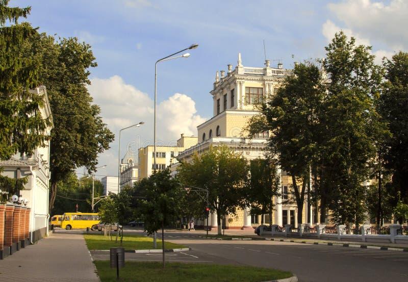 Η οικοδόμηση της κρατικής ιατρικής ακαδημίας του Ιβάνοβο στοκ φωτογραφίες με δικαίωμα ελεύθερης χρήσης