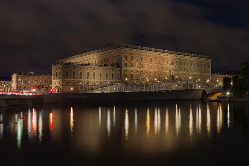 Η οικοδόμηση της Royal Palace Στοκχόλμη Σουηδία 31 07 2016 στοκ φωτογραφία
