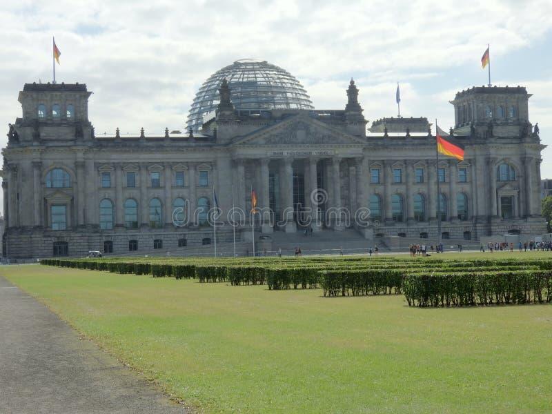 Η οικοδόμηση του Βερολίνου Reichstag στοκ εικόνα με δικαίωμα ελεύθερης χρήσης