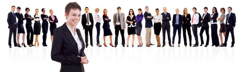 η ομάδα ηγετών της στοκ εικόνες
