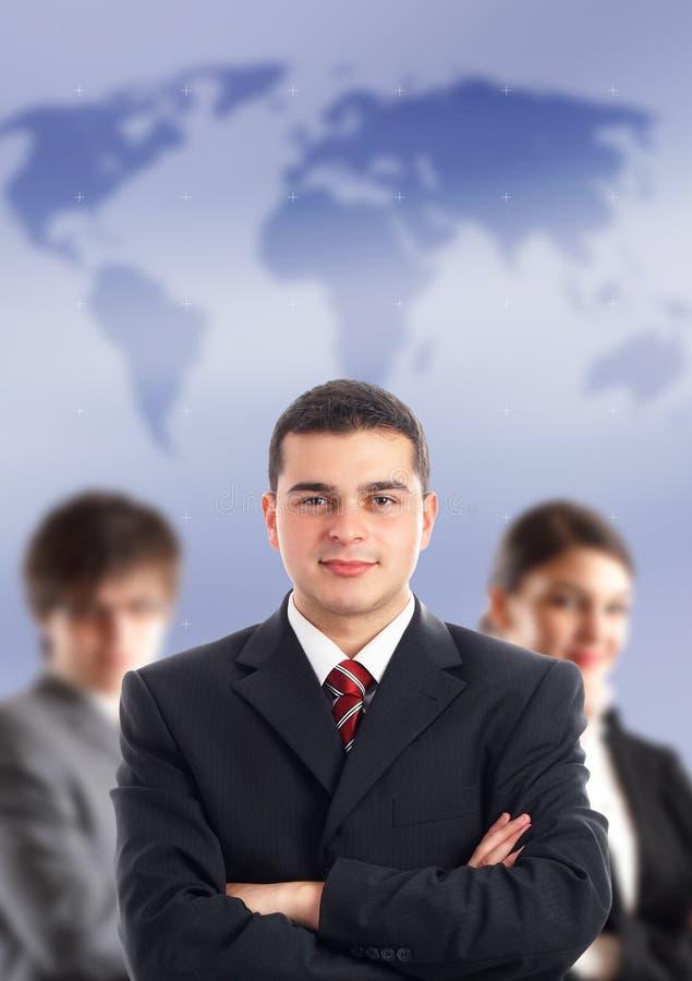 η ομάδα ηγετών του στοκ εικόνα